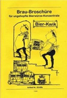 Bier Kwik Bierbrauset Anleitung - Bierbrauset Bier Kwik