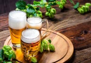 Bierbrauset Test - Bierkrüge